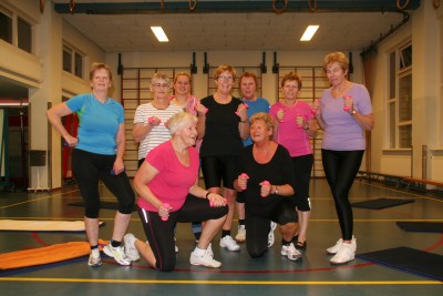 Dames gymgroep ABS