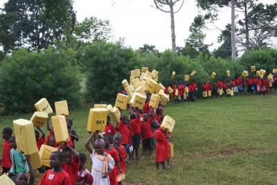Hardlopen voor Uganda