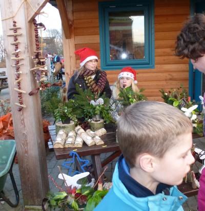 Sfeervolle kerstmarkt