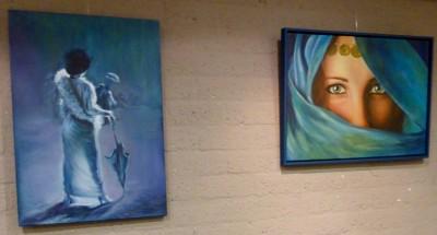 Expositie schilderes
