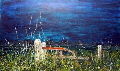 Expositie kunstschilder