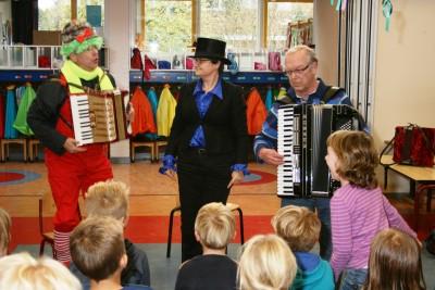 Circus op de Beatrixschool
